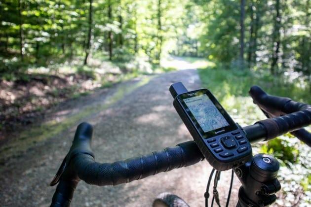 garmin gpsmap 66sr test fahrradhalterung 630