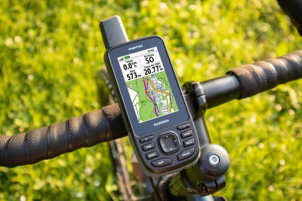 garmin gpsmap 66st fahrrad