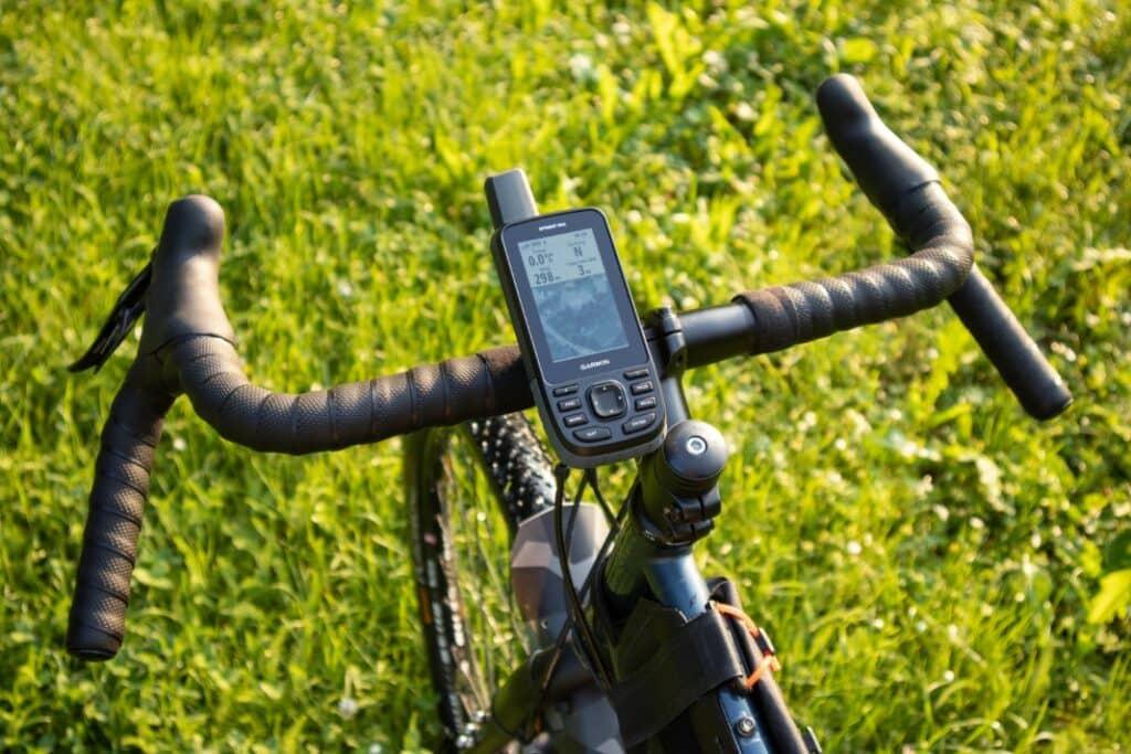 garmin gpsmap 66st fahrradhalterung befestigt