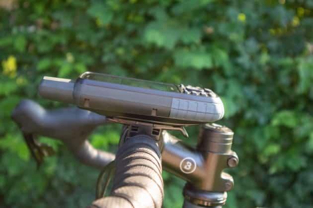 garmin gpsmap 66st fahrradhalterung links