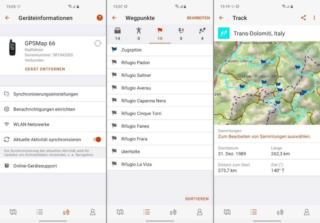 garmin gpsmap 66st garmin explore app 2