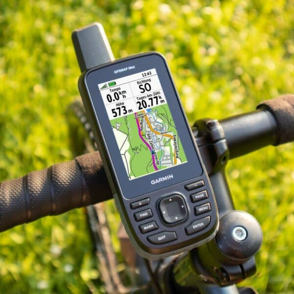 Garmin GPSMAP 66s und Garmin GPSMAP 66st Test & Erfahrungen - GPS Outdoor Navigation