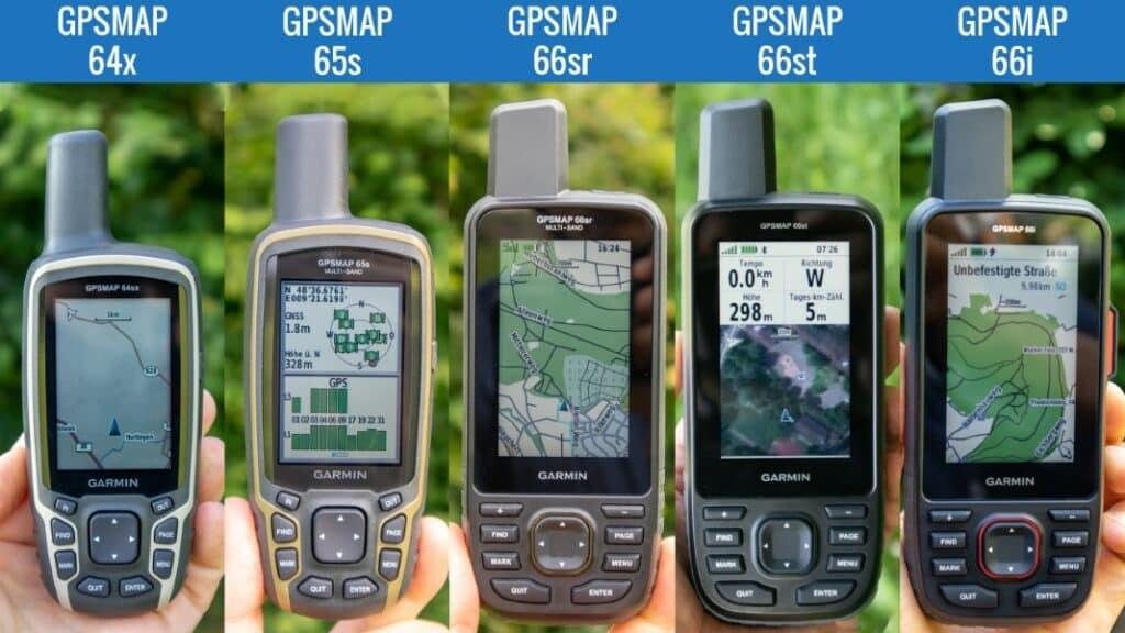 garmin gpsmap vergleich test