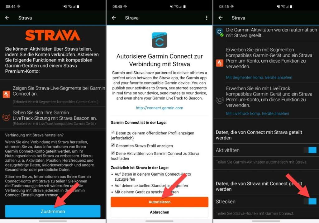 garmin mit strava verbinden connect app