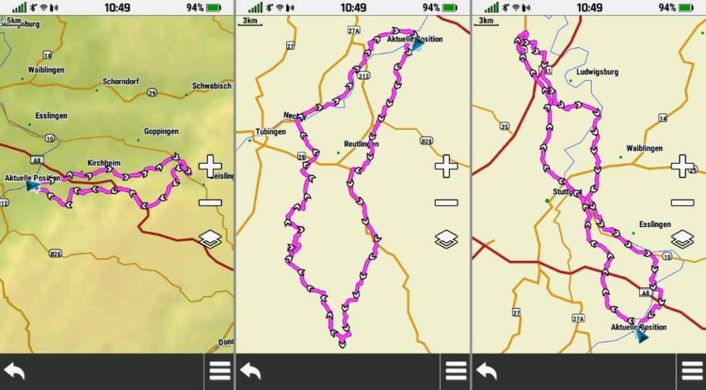 garmin montana 700 roundtrip routing 2