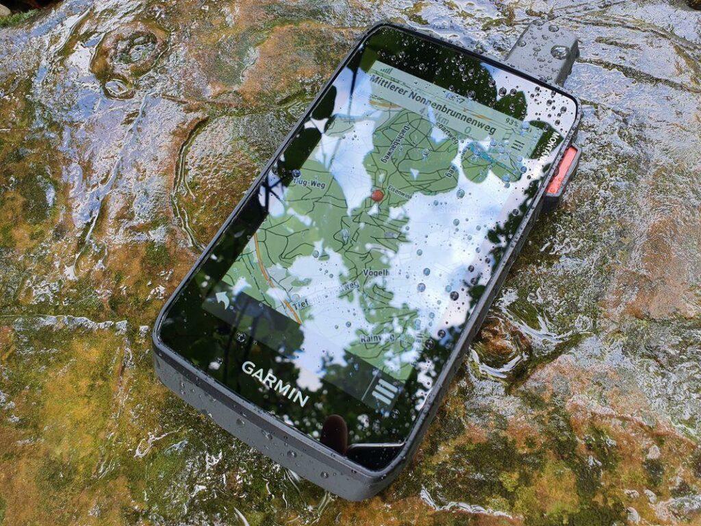 garmin montana 700 wasserdicht regen