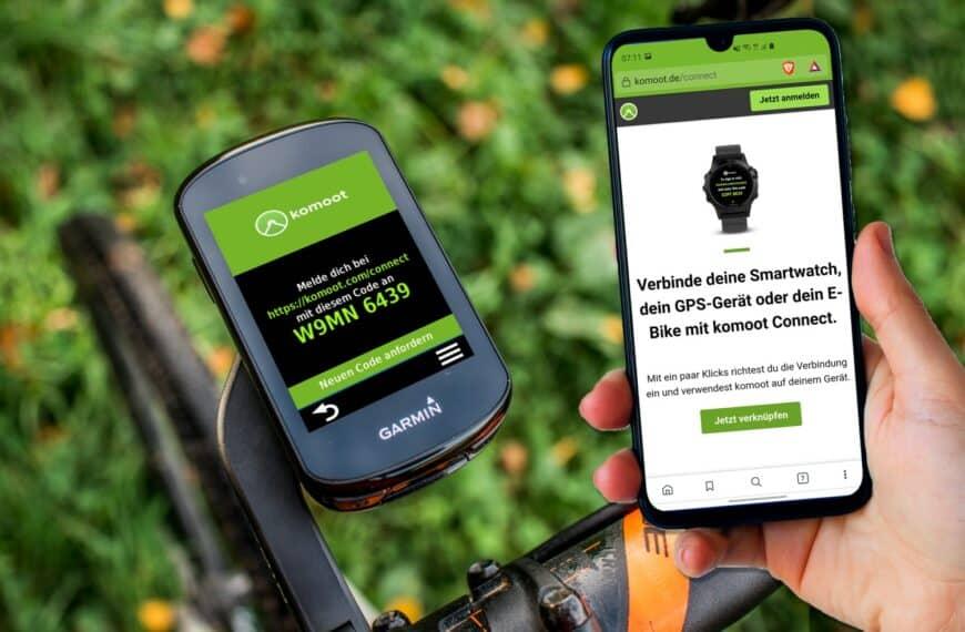 komoot auf Garmin: Strecke Übertragen und Navigieren – mit Connect IQ App
