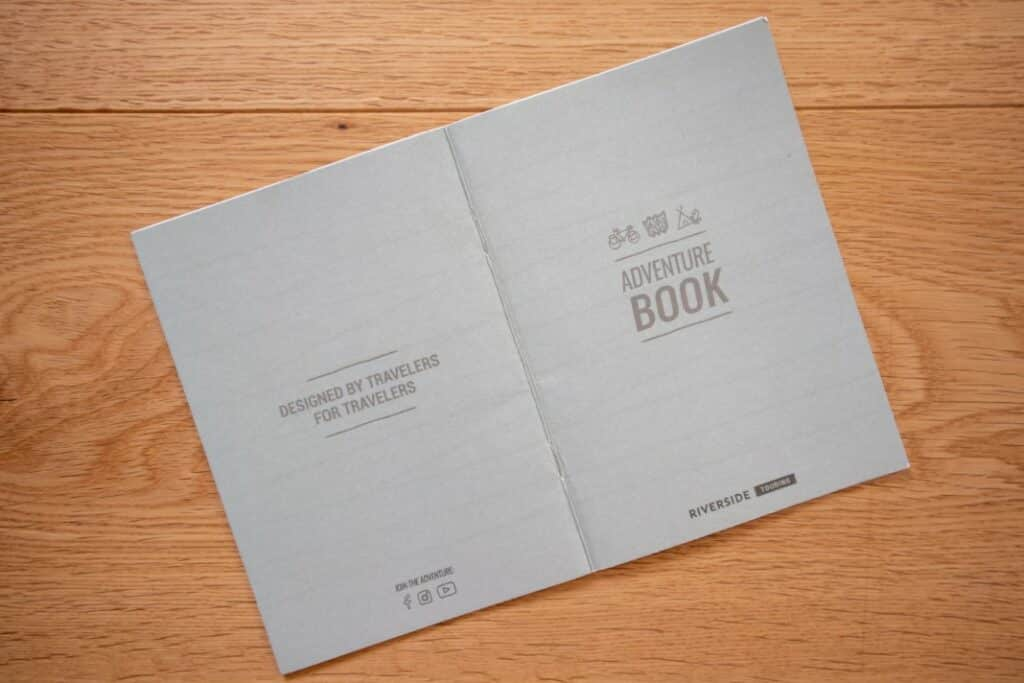 riverside touring 920 lieferumfang adventure book