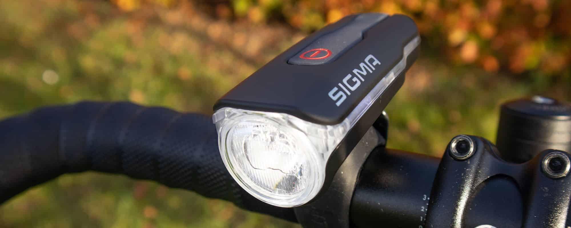 Sigma AURA 60 USB Test - Blitzschnell montiert und leuchtstark? Mit StVZO-Zulassung