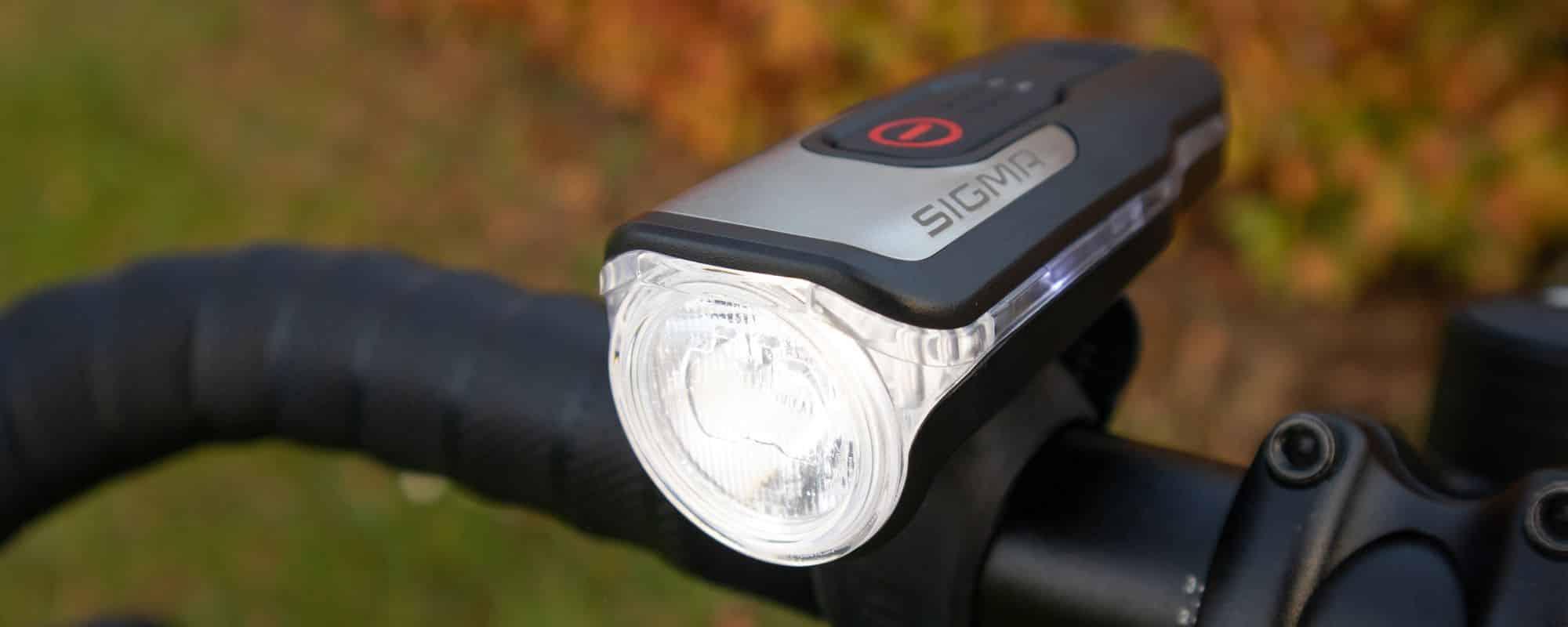 Sigma AURA 80 USB Test - das helle Qualitätslicht erleuchtet die Nacht! StVZO-Fahrradlicht