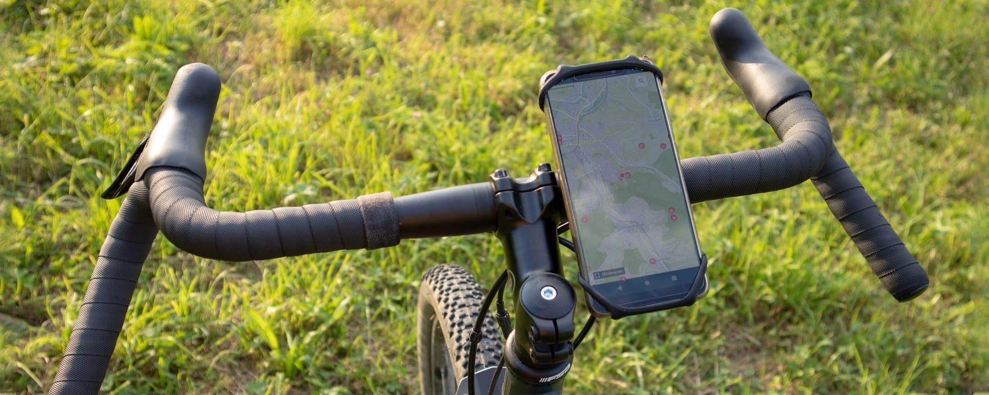 Universal Fahrrad Handyhalterung im Test - geeignet für fast alle Smartphones (4,5 Zoll bis 7,0 Zoll)