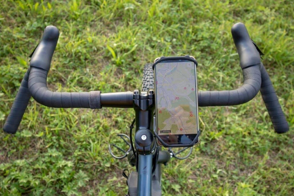 universal handyhalterung silikon fahrrad lenker